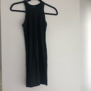 TOPSHOP BLACK RACERBACK DRESS